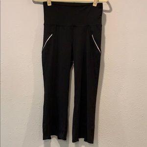 Old Navy high waist crop leggings split hem, S